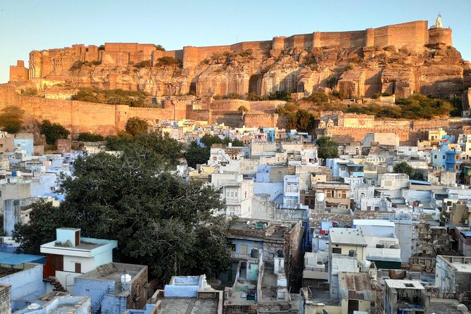 Motorcycle Blue city Tours in Jodhpur