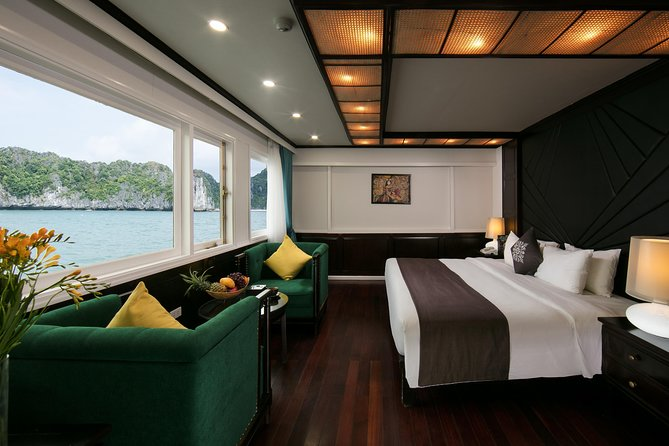 Luxurious Halong Bay 2 days 1 night package - 5* La Regina Royal Cruise