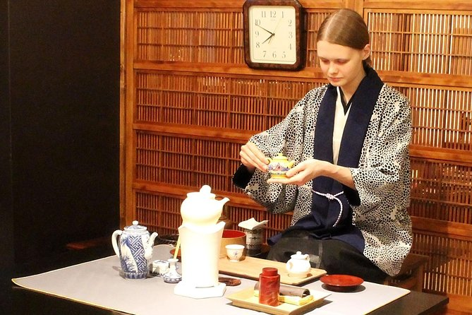 Unique tea ceremony experience in Kyoto