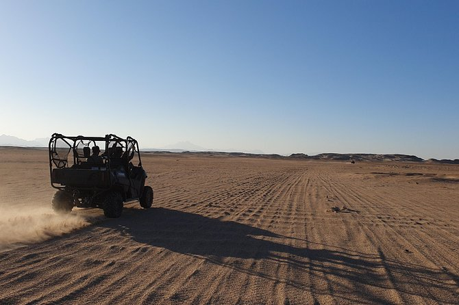 Hurghada: Dune Buggy Sunset Adventure with Camel Ride