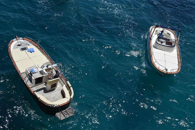 Capri & Positano in one day private boat tour