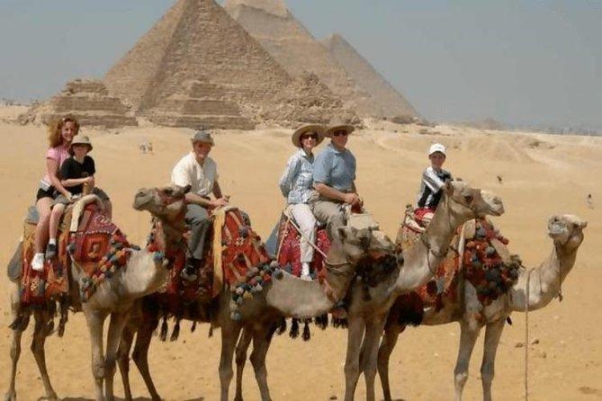 Camel & Horse Ride at the Great Giza Pyramids