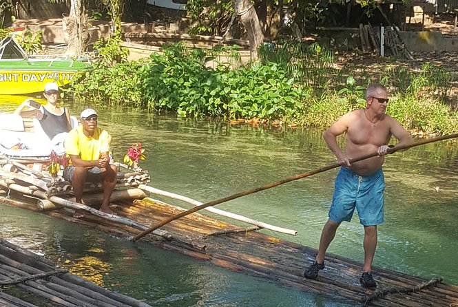 Bamboo Rafting on the White River in Ocho Rios Jamaica