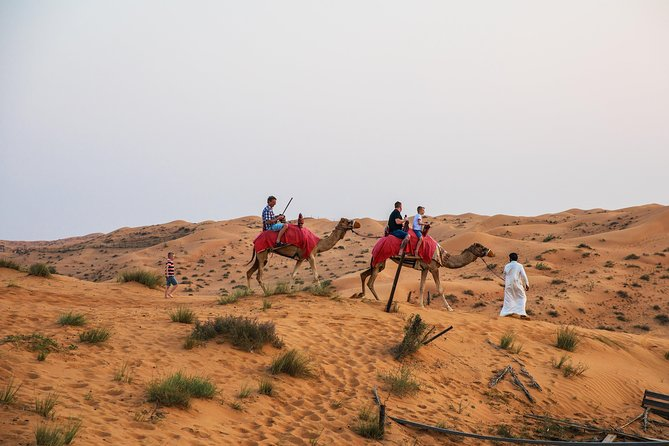 Ras Al Khaimah Camel Trekking & Dinner With Hotel Pick Up photo 1