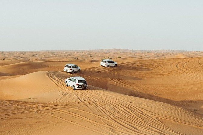 Depart from Meet-up point in desert, group of 4pax