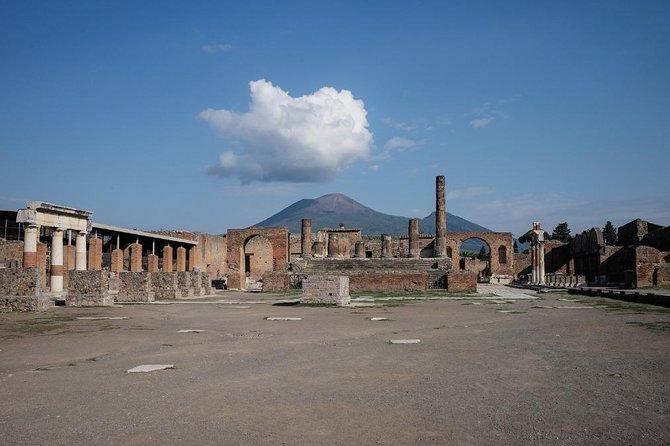 The Archaeological Sites - Herculaneum, Mt. Vesuvius & Pompeii.