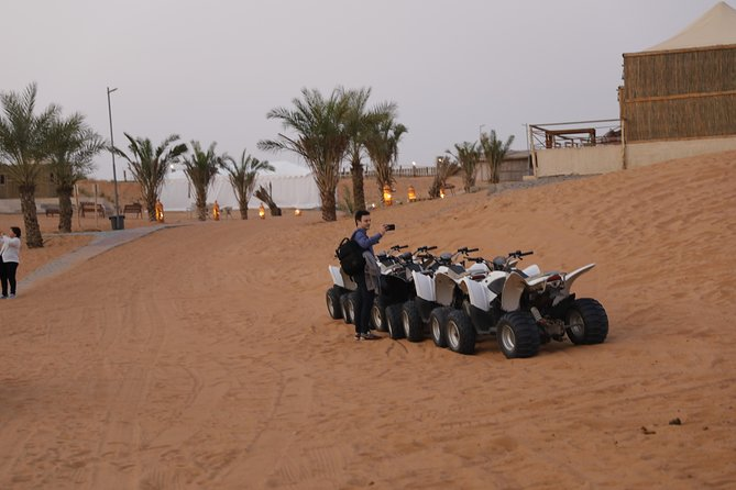 Ras Al Khaima Desert Quad Bike (ATV) Guided Tour - Arrive and Drive photo 1