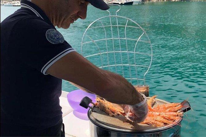 Fished and grilled: a private cruise in Cinque Terre and a special lunch onboard