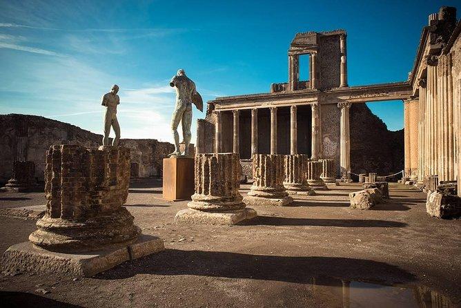 Visit half day to the Pompeii site (4hr)