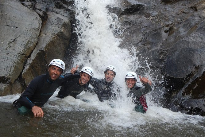 Canyoning in Baños Cascada Chamana 20.00 USD