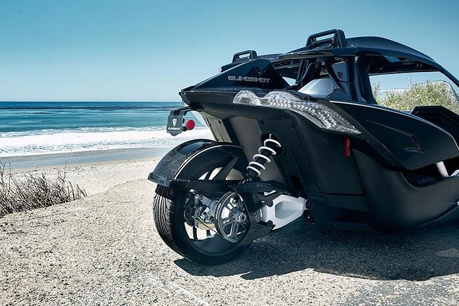 Half-Day (4 hour) Polaris Slingshot Rental for up to TWO people