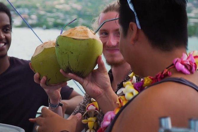 Discovery of the lagoon of Tahiti in Donuts Boats - 2 hour outing