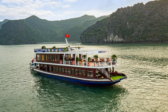 Halong - LanHa Bay with 4Star Serenity Cruise 1Day in Unique Route