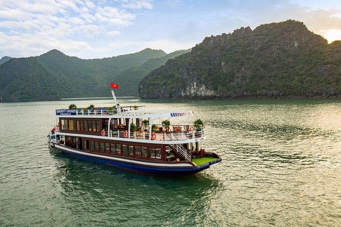 HaLong-LanHa Bay 1 Day with Serenity Cruise
