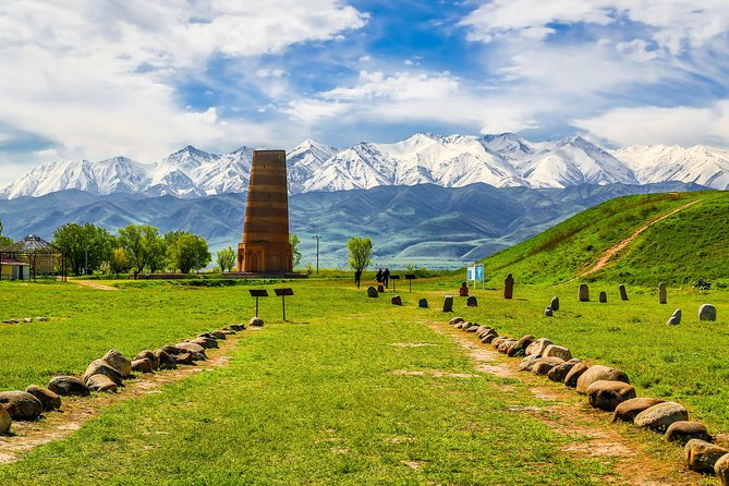 1 day tour to Burana Tower and lunch in house. Follow the Silk Road. Kyrgyzstan