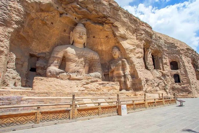 Private Day Tour to Yungang Grottoes in Datong from Beijing by Bullet Train