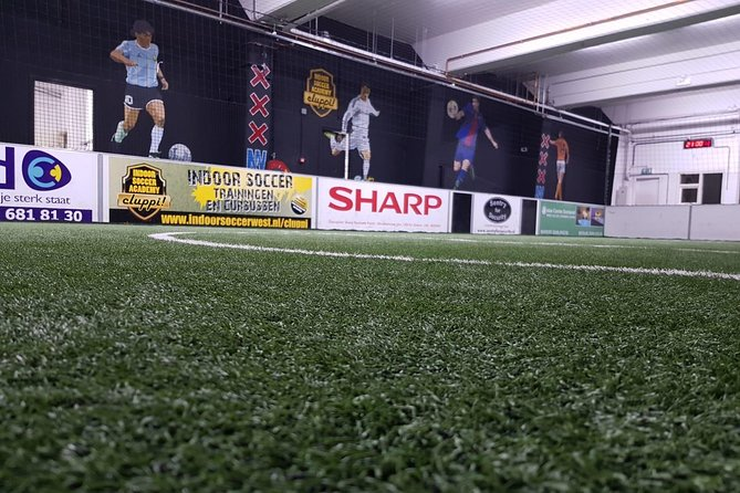 Reserve indoor soccer field