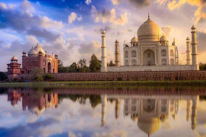 2 Days: Taj Mahal Tour at Sunset & Sunrise From Delhi