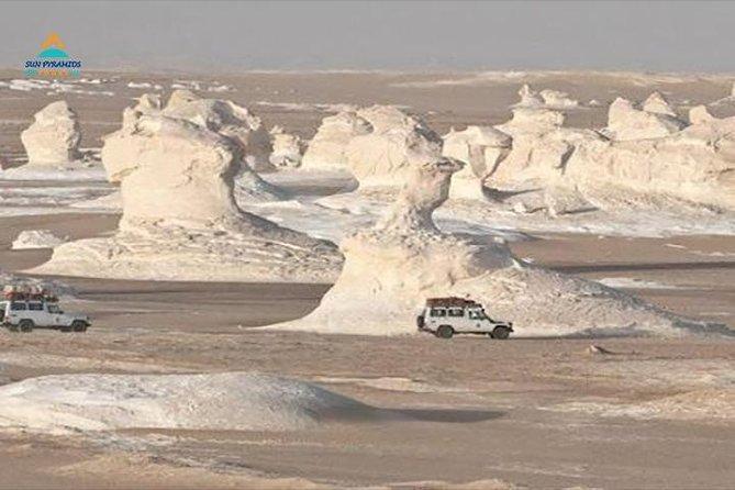 Day tour to White Desert and Bahariya Oasis Tour