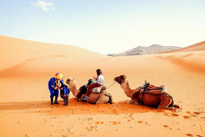 3 Day 2 Nights Family Tour from Marrakech to Merzouga Desert and Chefchaouen