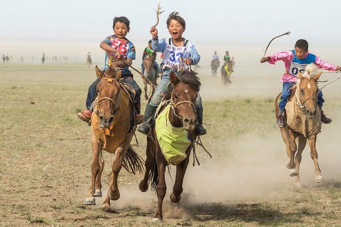 A Day Mini Naadam Festival 2020 & Genuine Nomadic Heritage