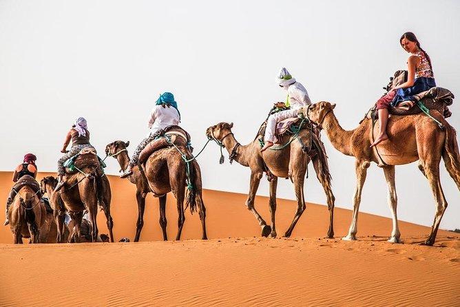 3 Day Desert Tour From Marrakech To Merzouga with Luxury desert camp