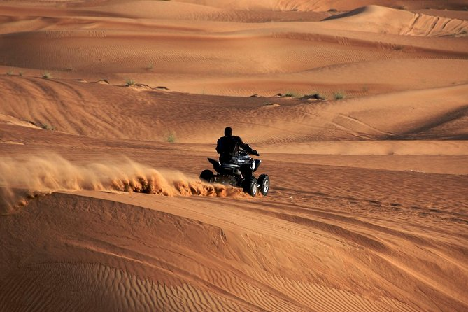Morning Desert Safari with Quad Bike