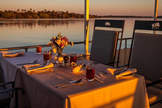 Dinner Cruise on the Zambezi