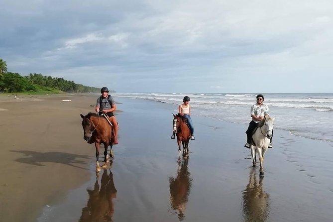 Quality Horseback riding tours on the Beach by CR Beach Barn in Esterillos Este!