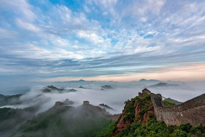 Jinshanling Great Wall Layover Tour from Capital Airport