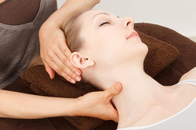 Head and Neck Massage 30 minutes