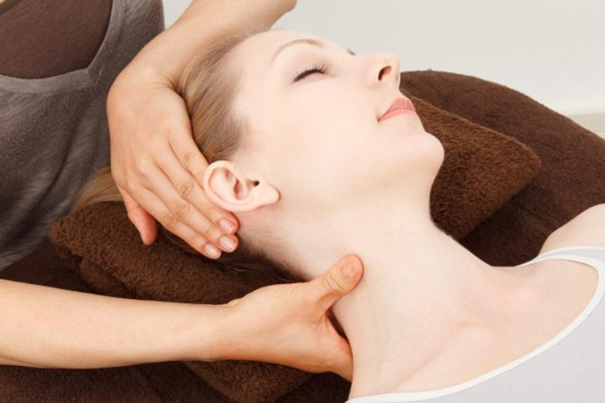 Head and Neck Massage 60 minutes