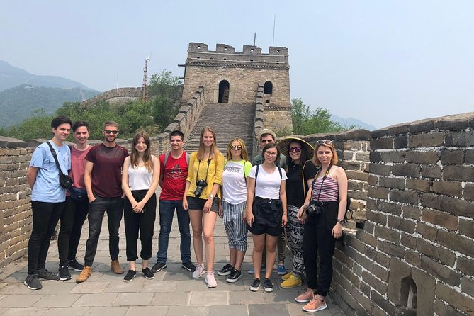 Mini Group Tour to Mutianyu Great Wall and Forbidden City from Airport