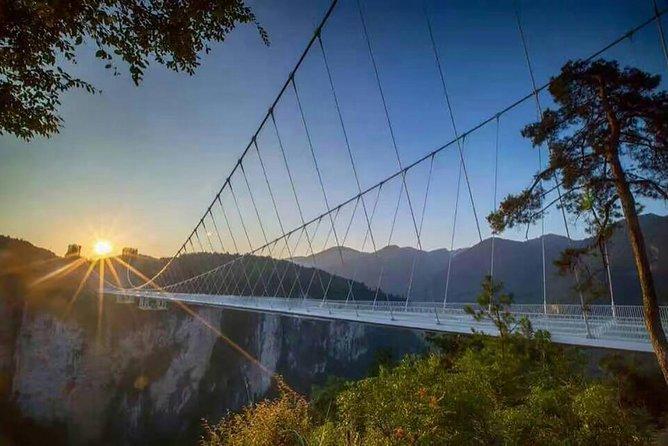 Private Day Tour to Zhangjiajie Grand Canyon, Glass Bridge, Yellow Dragon Cave