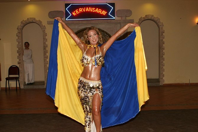 Marmaris Turkish Night and Dinner;Watch exotic belly dancers, traditional Turkish folk acts and more