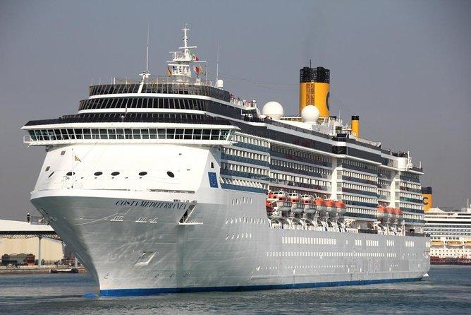 Private transfer, Costa Mediterranea, Venice cruise terminal, Marco Polo airport