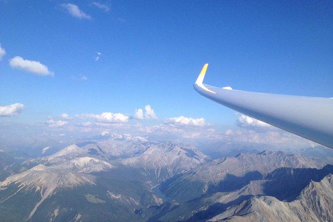 Sightseeing flight with motor glider from Schänis