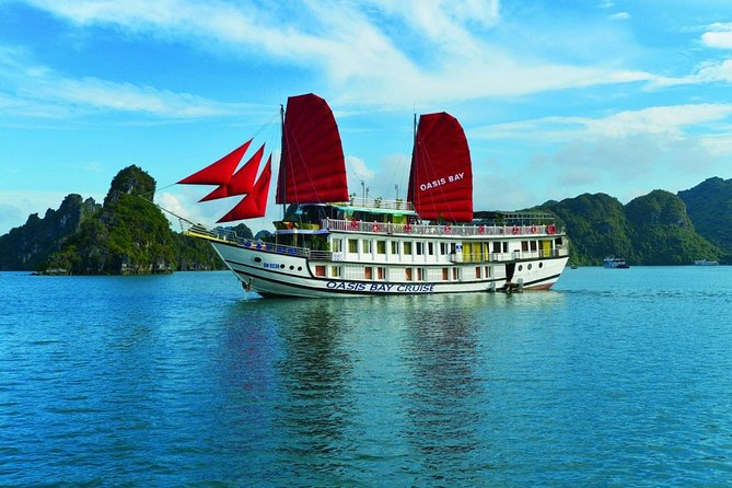 Oasis Bay Classic Cruise 4 Star - Ha Long Bay 2 Days 1 Night Tour