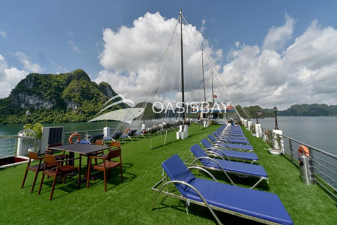 Oasis Bay Party Cruise 5 Star - Ha Long Bay 2 Days 1 Night (For Young People) photo 22