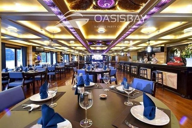 Oasis Bay Party Cruise 5 Star - Ha Long Bay 2 Days 1 Night (For Young People) photo 14