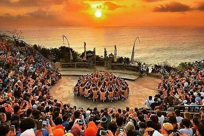 Private tour watersport - kecak fire dance and uluwatu temple tour
