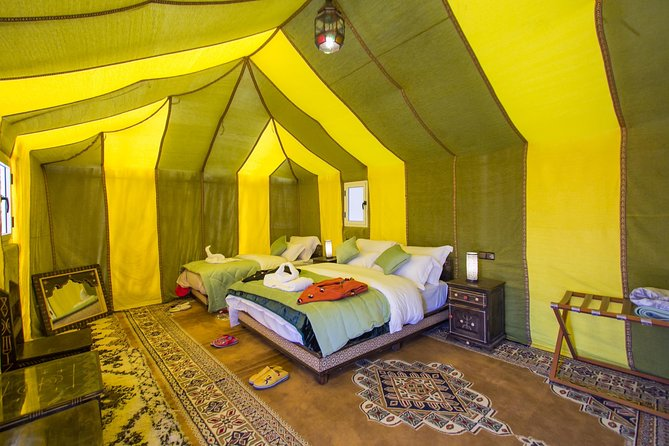 2 Days Camel Trip from Marrakech : Sahara Desert Tour with Night in Luxury Camp