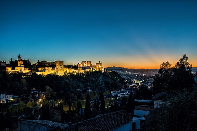 Alhambra Sunset Exclusive at Christmas Behind Closed Doors.