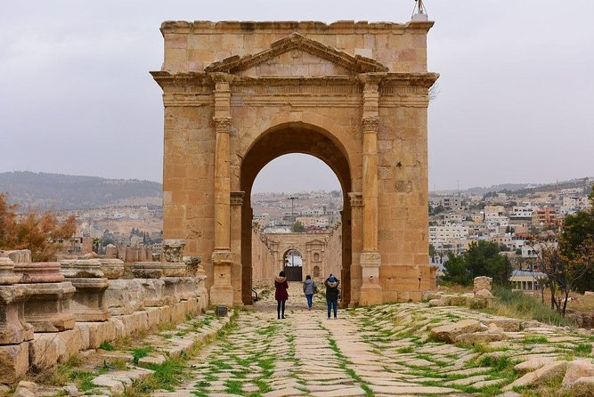 Jerash & Amman City Tour Day Trip from Dead Sea or Airport or Madaba