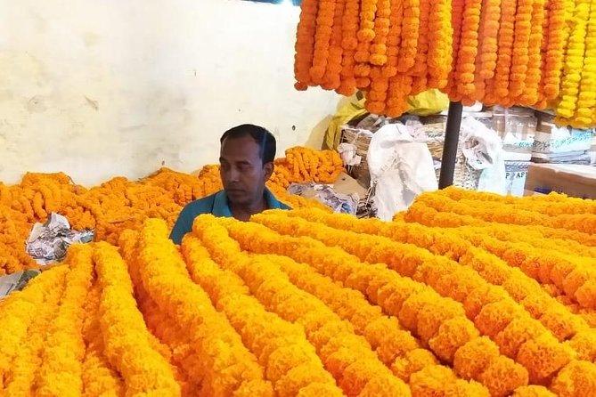 Flower Market tour of Gazipur Mandi in Delhi