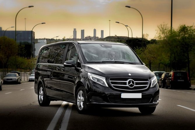 Arrival Private Transfer Seville Airport SVQ to Malaga Airport AGP by Luxury Van