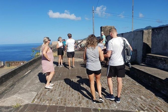 Kingstown, Botanical Gardens, Fort Charlotte and Beach w/ Topdawg Taxi and Tours