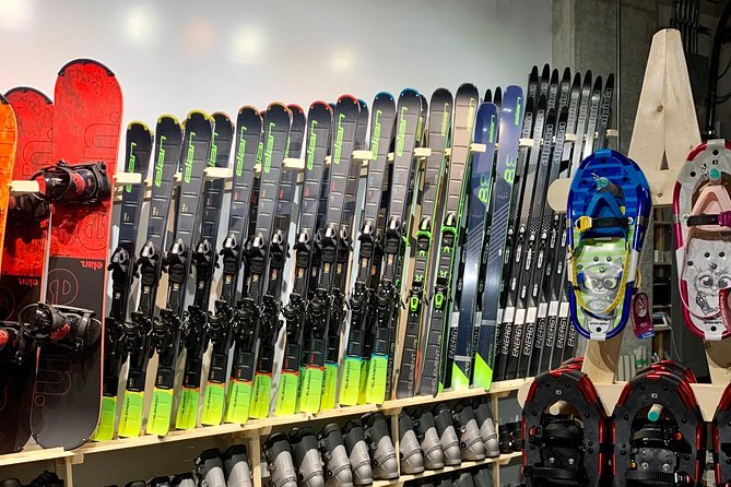 Ski Rentals at The Shipyards near Lonsdale Quay Market