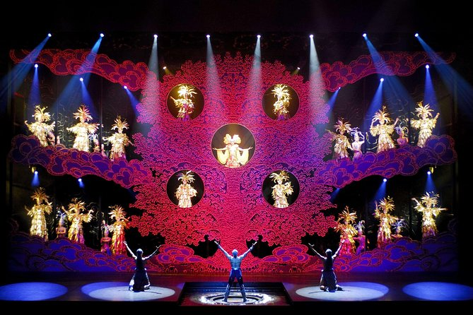 Golden Mask Show with Private Driver Service Include Hotel Pick-up and Drop-off