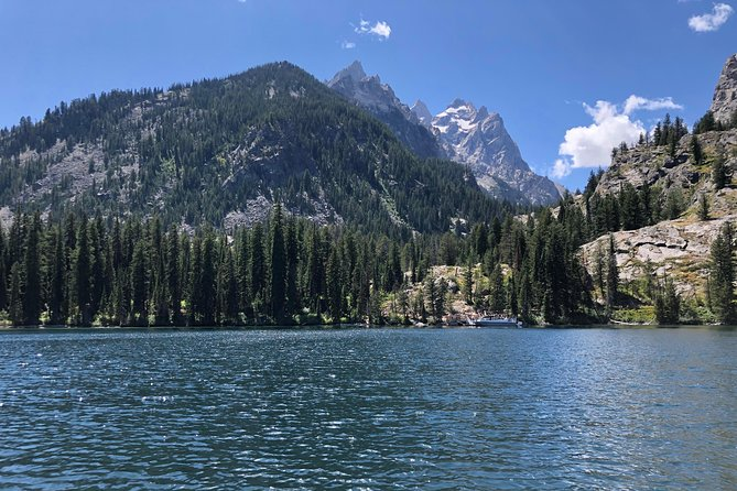 Grand Tetons from Jenny Lake